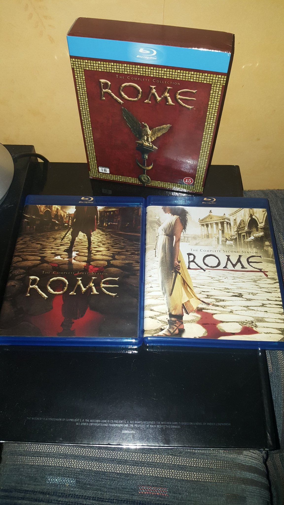 Rome Blu Ray Box, HBO, Sopranos, The Wire, Deadwood