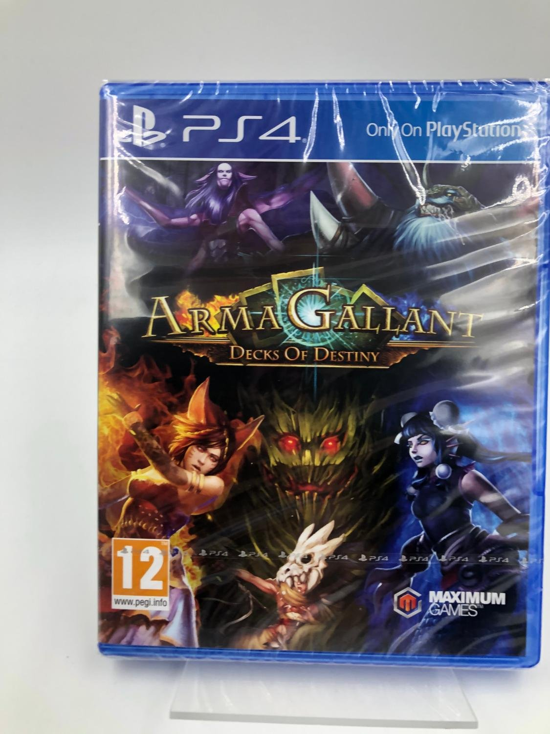 Arma Gallant Decks Of Destiny Playstation 4 PS4 Nytt Inplastat