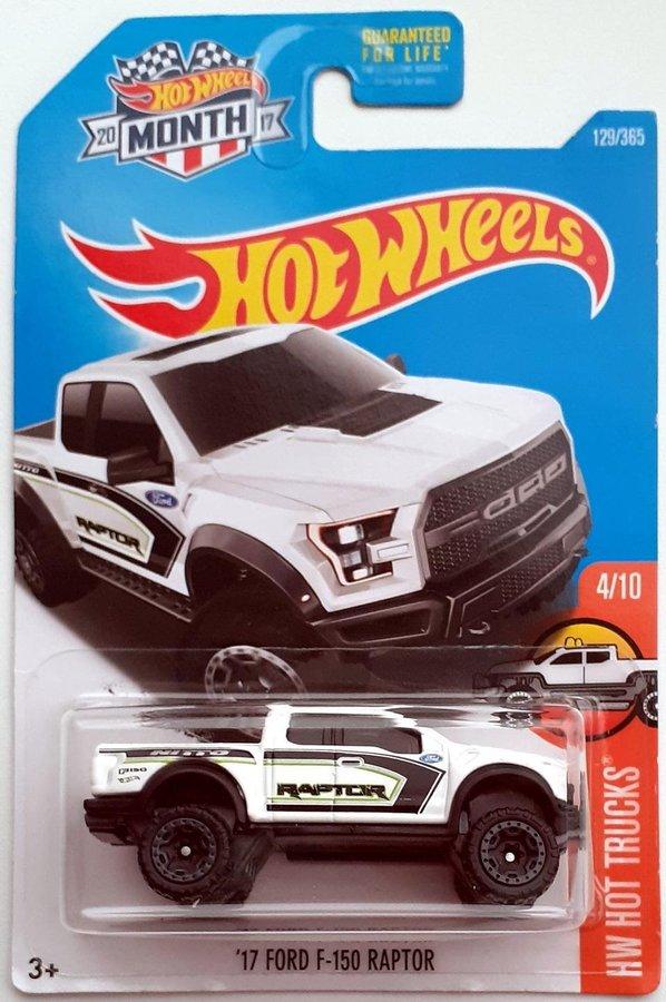 Red /'17 Ford F-150 Raptor Hot Wheels
