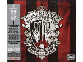 V.A. ROADRUNNER UNITED - The All-Star Sessions , CD+DVD 2005 , ,