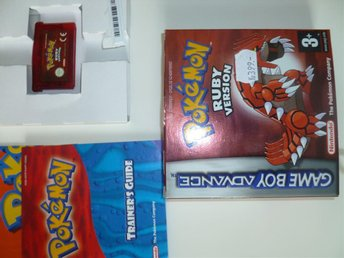 Game Boy Advance – Pokemon RUBY VERSION