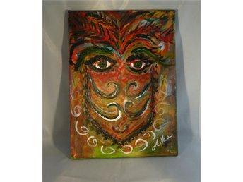 Akryl på canvas - A face that growsbon you - Bro - Akryl på canvas - A face that growsbon you - Bro