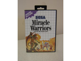 MIRACLE WARRIORS, KARTA och MANUAL, ///// SAMLAROBJEKT //////