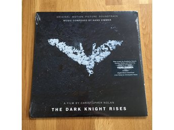 The Dark Knight Rises - Hans Zimmer (Vinyl LP, Soundtrack) Ny och inplastad