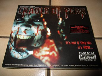 cradle of fear soundtrack cd hårdrock metal cradle of filth limited edition