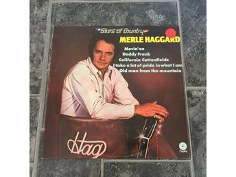 MERLE HAGGARD - STARS OF COUNTRY. (LP)