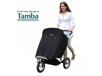 SnoozeShade Twin Review  stroller