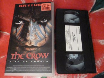 THE CROW, -CITY OF ANGELS-, VHS, ACTION, FILM, 90 MIN.