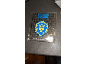 World of Warcraft alliance samlarobjekt - pin blizzard