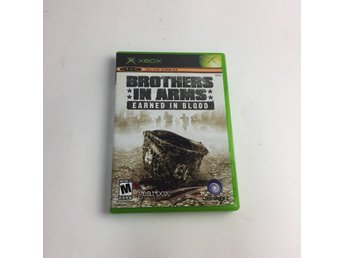 Ubisoft, XBOX-Spel, Brothers in arms earned in blood, Vit/Flerfärgad