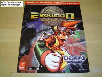 EVOLUTION GUIDE WALKTHROUGH SEGA DREAMCAST *NYTT*