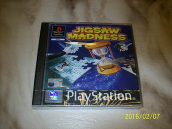 JIGSAW MADNESS NYTT INPLASTAT (PS1)