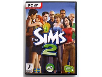 The Sims 2 - PC/DVDROM - Svensksålt - Komplett