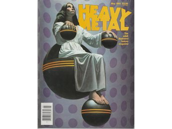 HEAVY METAL ADULT FANTASY MAGAZINE MAY 1982