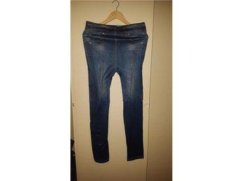 """11. Blåa """"jeans""""leggings i stl. XXL - Göteborg - 11. Blåa """"jeans""""leggings i stl. XXL - Göteborg"""