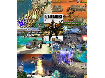 THE GLADIATORS - Galactic Circus Games / PC spel NY JULKLAPP - Lund - THE GLADIATORS - Galactic Circus Games / PC spel NY JULKLAPP - Lund