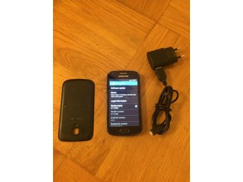 "Samsung Galaxy Trend Plus GT-S7580 Android +5.0MP Kamera + Laddare +OLÅST 4""tum"