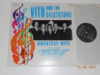 VITO & THE SALUTATIONS - Greatest Hits, LP Red-Kape 1002, USA 1973 Doo Wop