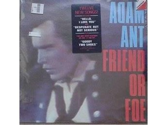 Adam Ant title* Friend Or Foe* New Wave US LP SEALD - Hägersten - Adam Ant title* Friend Or Foe* New Wave US LP SEALD - Hägersten