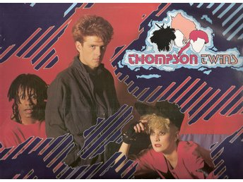 "Thompson Twins – Hold Me Now – 12"" vinyl 45"