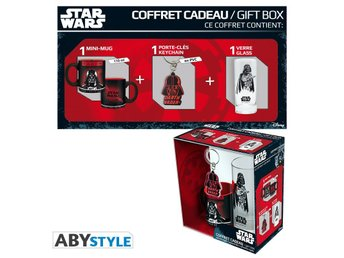 Gift Set - Glas, nyckelring & mugg - Star Wars - Darth Vader