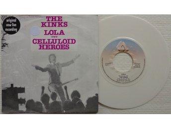 "THE KINKS 'Lola' 1980 Dutch reissue 7"", WHITE WAX - Bröndby - THE KINKS 'Lola' 1980 Dutch reissue 7"", WHITE WAX - Bröndby"