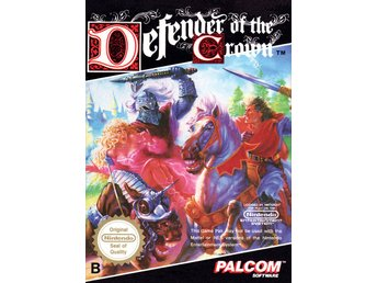 Defender of the Crown - NES - Kassett
