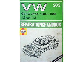 Reparationshandbok VW Golf