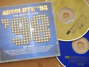 Absolute '98 Dubbel CD: Kent,Corrs,Robbie Williams,Dr. Bombay,Spice Girls
