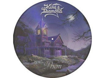 King Diamond -Them PIC-DISC Metal Blade ltd 2000 copies