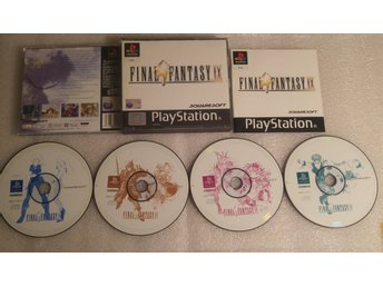 Final Fantasy IX Till Playstation! Komplett! 1kr