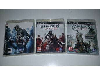 - 3-Pack Assassins Creed PS3 -
