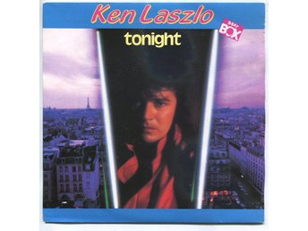 "Ken Laszlo -Tonight (2 vers) 7"" Beat Box rec Sweden 1986"
