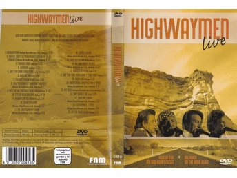 DVD Highwaymen Live