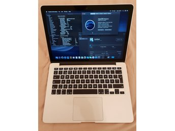 "13,3"" MacBook Pro Retina (early 2015), i7 3.1GHz, 16GB RAM, 512GB SSD, toppskick"