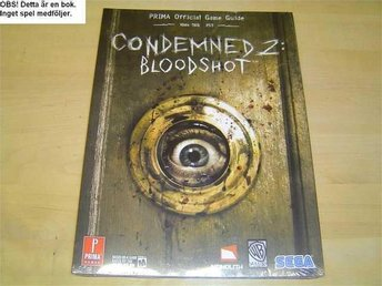 GUIDE CONDAMED 2 PLAYSTATION 2 PS2 & XBOX 360 *NYTT*