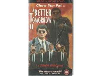 A better tomorrow II - John Woo/Chow Yun Fat - Ej text - Vhs