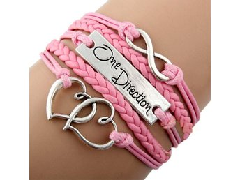 ONE DIRECTION Armband,  Rosa