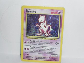pokemonkort pokemon kort mewtwo damaged v1