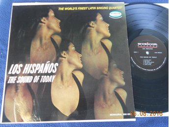 LOS HISPANÕS - The sound of today, US Musicor LP 60-tal Puerto Rico grupp
