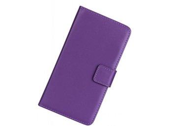 Plånboksfodral Sony Xperia Z2 Äkta skinn Lila - örnsköldsvik - Plånboksfodral Sony Xperia Z2 Äkta skinn Lila - örnsköldsvik