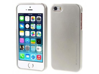 Mercury i Jelly Metal skal iPhone 5, 5S, 5SE Färg: Guld