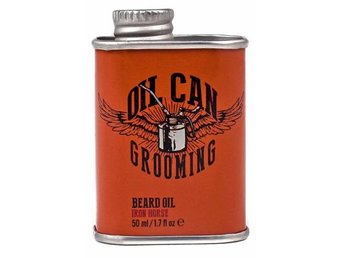 Oil Can Grooming Iron Horse Beard Oil 50ml - Mölndal - Oil Can Grooming Iron Horse Beard Oil 50ml - Mölndal