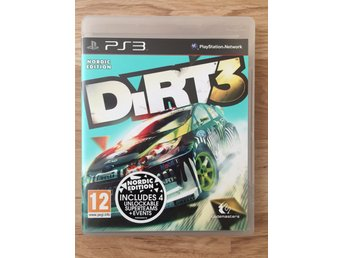2 PS3-spel (NFS Most Wanted + Dirt 3)
