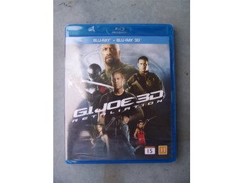 G.I. JOE RETALIATION ny inplastad 3D blu-ray