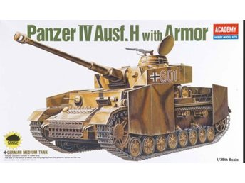 Academy 1/35 German panzer IV ausf.H w/armour