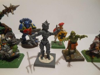 Fiskfolk Vattenväsen till Warhammer, Frostgrave, Kings of war, D&D etc 28mm