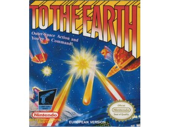 To the Earth - NES - Kassett