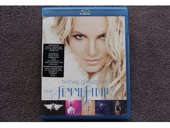 BRITNEY SPEARS LIVE  THE FEMMEFATALE TOUR  BLU-RAY