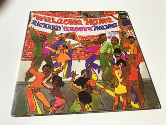 RICHARD GROOVE HOLMES - WELCOME HOME LP 1968